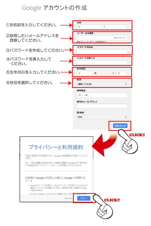 格安SIMデビューのためのGmail取得方法